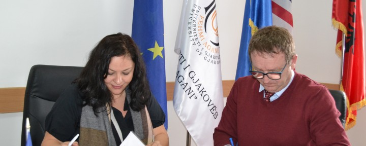 UFAGJ and Comsense Kosovo sign cooperation agreement